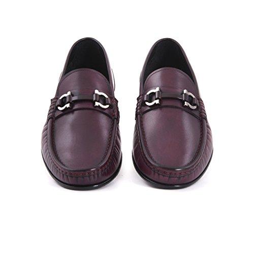 Herren Mokassins Schuh Oxford Stil mit Schnalle, Klassisch Elegant Stilvoll Anzug Sommer