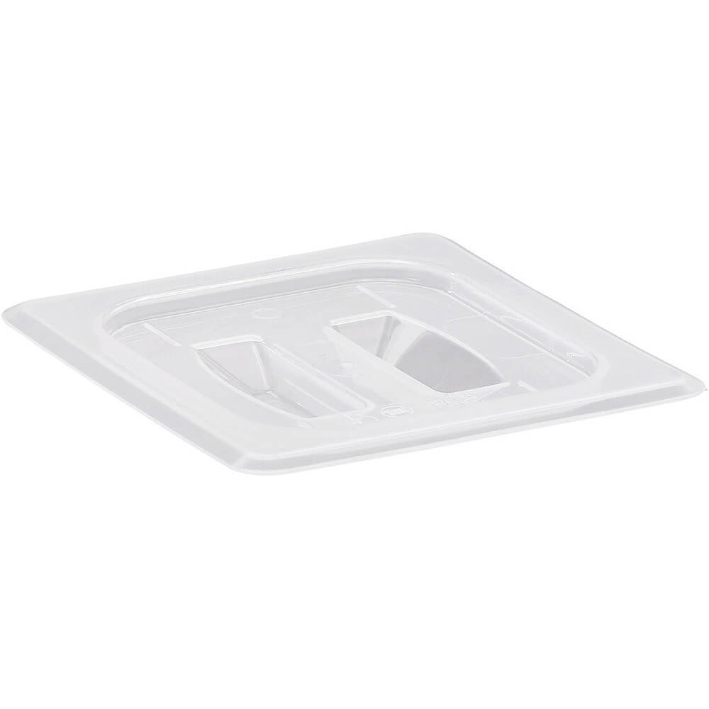 Cambro 1/6 GN Hotel Pan Lid with Handle, 6PK Translucent 60PPCH-190 by Cambro