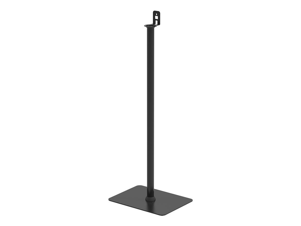 Monoprice Floor Speaker Stand for SONOS PLAY:1 - Black With Cable Management and Stable Base For Home theater