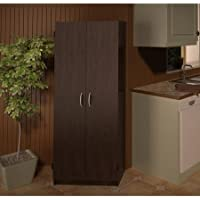 Double Door Storage Pantry, Espresso