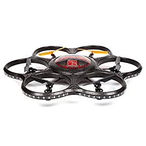 World Tech Toys 2.4Ghz Lancer UFO Spy Drone with Video Camera RC Hexacopter by World Tech Toys