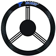 Fremont Die NHL Poly-Suede Steering Wheel Cover, One Size, St. Louis Blues