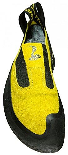 La Sportiva Cobra - Yellow - EU 34.5/UK 2+/US M 3+/US W 4+ - Sensibler Präziser Kletterschuh