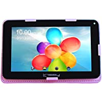 LINSAY NEW F7XHDBPINK Quad Core Tablet