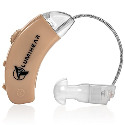 Aid Hearing Bte (LumiHear Hearing Amplifier - PSAP BTE Device - Listening Enhancement Aid - Recommended By A Doctor of Audiology)