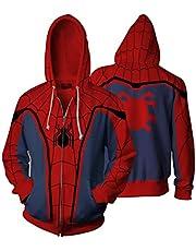 سويت شيرت رياضي بغطاء للرأس مطبوع عليه فيلم فيلم الرجل العنكبوت من Marvel Comics Venom Superhero