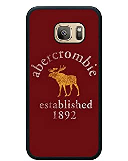 Samsung Galaxy S7 Abercrombie And Fitch 9 Black Shell Phone Case,Fashion Cover