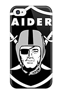popular oaklandaiders NFL Sports & Colleges newest For Apple Iphone 4/4S Case Cover 8079054K817120128