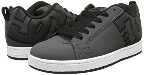 gris Hommes Dc Court Gris Graffik Blanc Sneakers wqtOEXxw