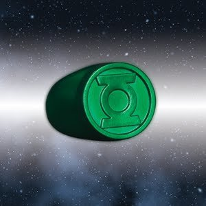 DC Comics Blackest Night Green Lantern Ring Authentic -