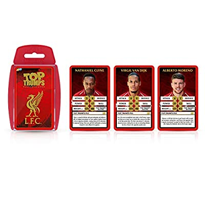 Liverpool FC 18/19 Top Trumps Card Game: Toys & Games