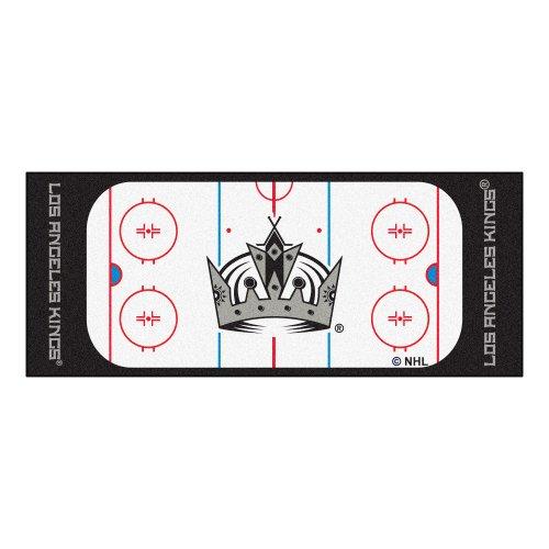 Rug Angeles Los Football - FANMATS NHL Los Angeles Kings Nylon Face Football Field Runner
