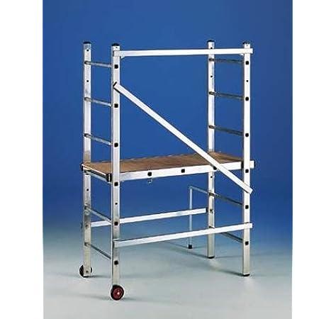 Andamio de aluminio transformable en escalera 3x6: Amazon.es: Industria, empresas y ciencia