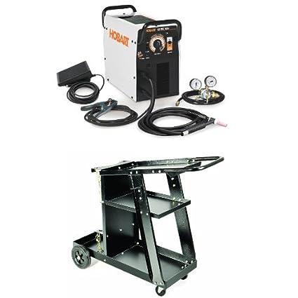Hobart Tig Welder >> Hobart 500551 Ez Tig 165i Ac Dc Tig Welder 230v Mig Welding