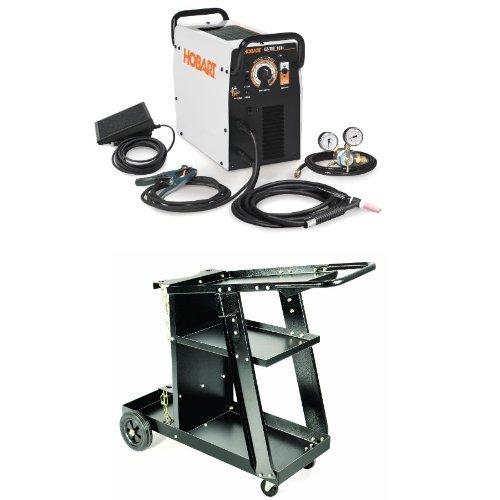 C/DC TIG Welder with Welding/Plasma Cutter Cart ()
