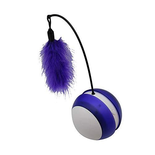Loopunk - Vaso eléctrico para Mascotas, diseño de Gatos, Pelota ...