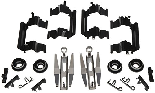 ACDelco 18K1551X Professional Front Disc Brake Caliper Hardware Kit with Clips and Bushings