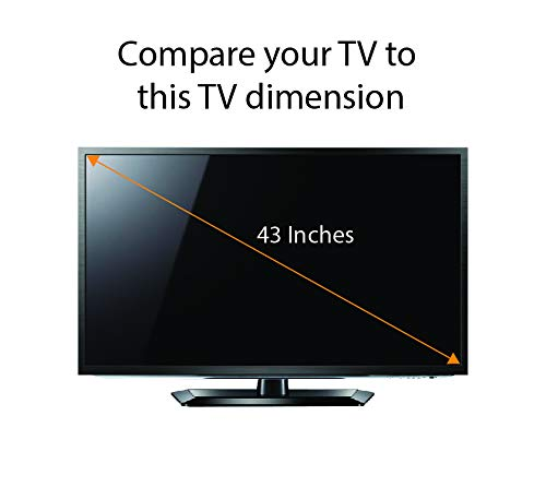 Anti Blue Light Screen Protector for 55 Inches TV Filter Out Blue Light That Relieve Computer Eye Strain and Help You Sleep Better