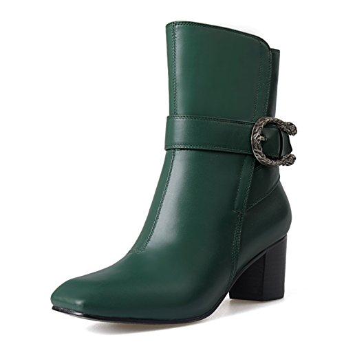 Nine SevenMid-calf Boots - Botas mujer Verde