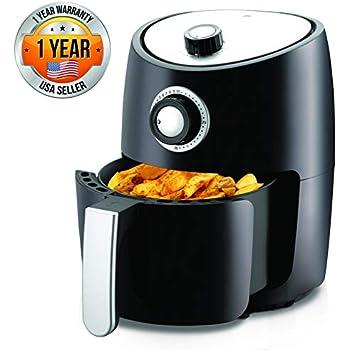Amazon.com: Air Fryer Oven 2 Quart - 1000w Power Oilless