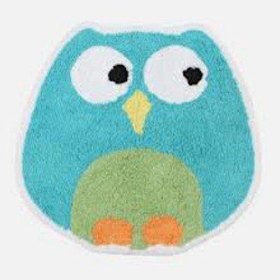 Saturday Knight Owl Tufted Bath Rug