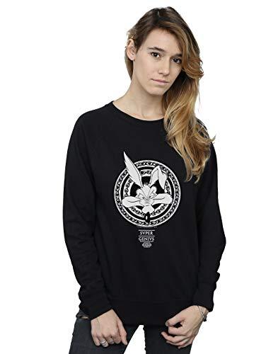 Entrenamiento Negro Wile Super Absolute Camisa E Coyote Looney Mujer De Cult Genius Tunes 7FIFBPq