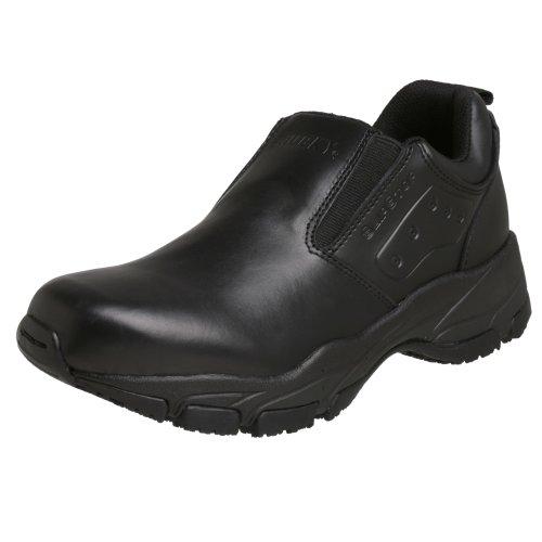 Traditional Duty Boots (Rocky Duty Men's Slip Stop Slip-On,Black,8 W)