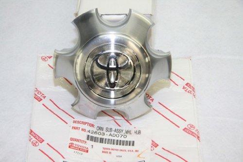 Toyota 4runner Center Caps - Toyota Genuine Parts 42603-AD070 Center Wheel Cap