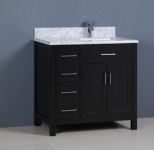 Miraculous Golden Elite 36 Carrera Bathroom Vanity Espresso Interior Design Ideas Pimpapslepicentreinfo