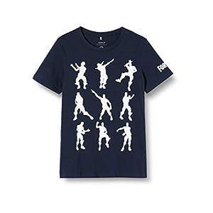 NAME IT Jungen Nkmfortnite Alex Ss Top Noos LIC T-Shirt