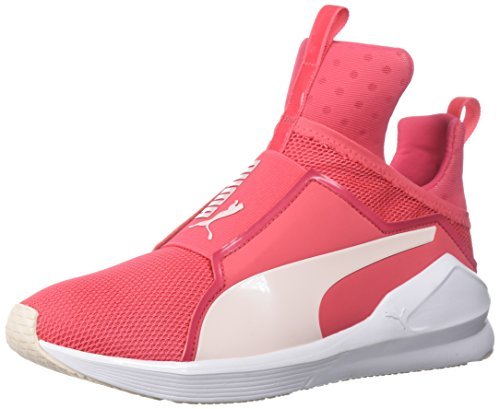 PUMA Women's Fierce Core Sneaker, Paradise Pink White, 10 M US