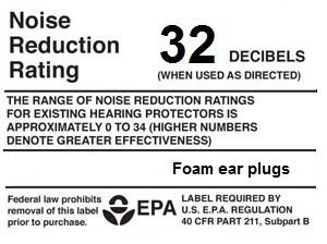 EarSaviors Premium Soft Foam Ear Plugs - Brown- 50 Pairs of 32db NRR- Disposable Earplugs - Recommended Hearing Protection for Work, Sleeping, Flying, Racing, Hunting, and Loud Noises by Taahaa (Image #3)