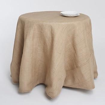 Amazon Com Passe Partout Burlap Lined Linen Tablecloth