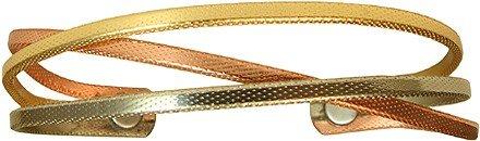 BillyTheTree Jewelry Fire Dancer - Sergio Lub Copper Magnetic Therapy Bracelet - Made in USA! - Lub Sergio Cuff