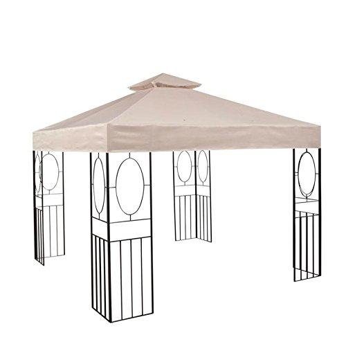 Garden Winds Replacement Canopy for The 10' x 10' Masley Gazebo - 350 by Garden Winds