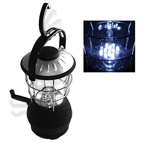 (12 Super Bright LED Light-Battery Free Crank Lantern Nk #)