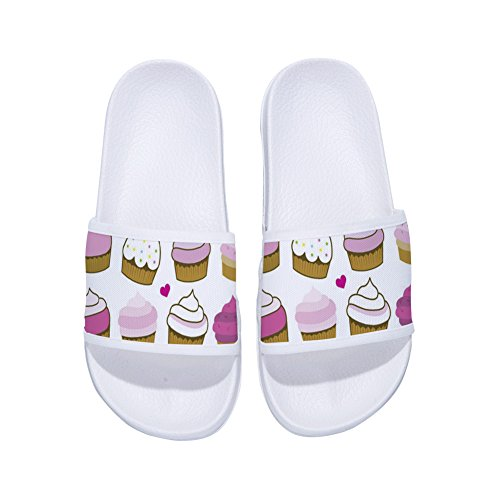 Cute Non Cupcakes Slippers Buteri Drying for Slippers Womens Sumnmer White Slip Quick ROqfwUf