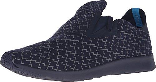 Inheemse Unisex Apollo Moc Fashion Sneaker. Regatta Blauw / Regatta Blauw / Bliksem