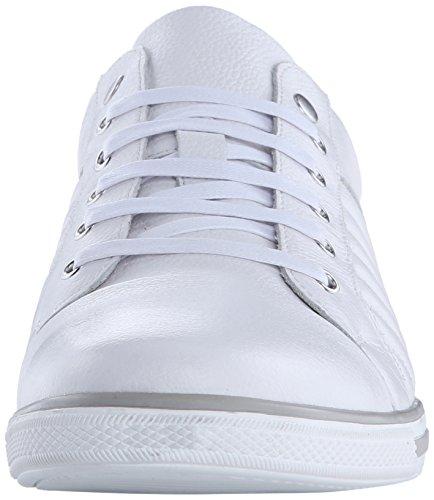 Kenneth Cole New York Mens Snap-ned Mote Sneaker Hvit
