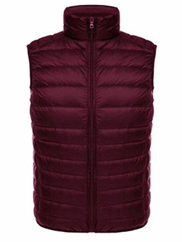 Generic Men's Light Stand Collar Packable Puffer Down Vest 1