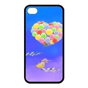 Custom Balloon Back case for iphone4,4S JN4S-253