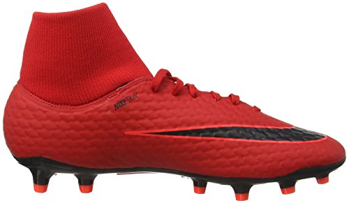 Hombre Rojo Zapatillas Df 3 noir cramoisi Université Fútbol Fg De Para Brillant Phelon Nike Hypervenom rouge vq1zAA