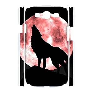 Wolf--phone case cover For Samsung Galaxy S3 I9300