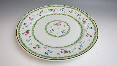 Bernardaud China ARTOIS GREEN Bread and Butter Plate EXCELLENT