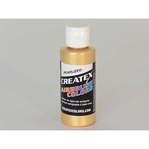 Pearl Paint Gold (Createx 5307-02 Airbrush Paint, Pearl Satin 2 Oz, Gold)