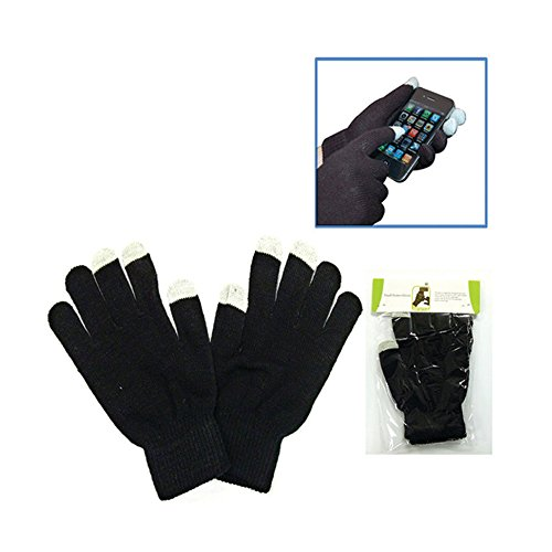 Text Messaging Gloves,1 Pair,Black,Cell Phone Accessories