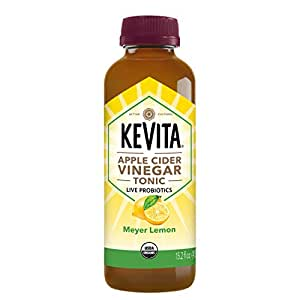 Amazon.com : KeVita Apple Cider Vinegar Tonic, Meyer Lemon