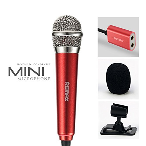 Mini Microphone, Omnidirectional Stereo Mic for Voice Recording,Chatting on Cellphones,Tablets,Laptops,Computers - (Omni Directional Stereo Microphone)