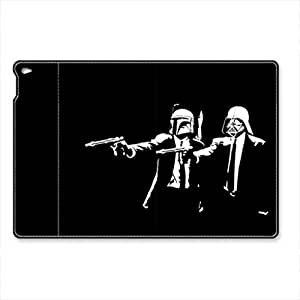 iPad Air 2 (iPad 6) Case Cover, iCustomonline Star Wars Pulp Fiction [Ultra Slim] [Light Weight] [Scratch-Resistant Lining] [Perfect Fit] [Auto Wake Up/Sleep Function] Case Cover for iPad Air 2