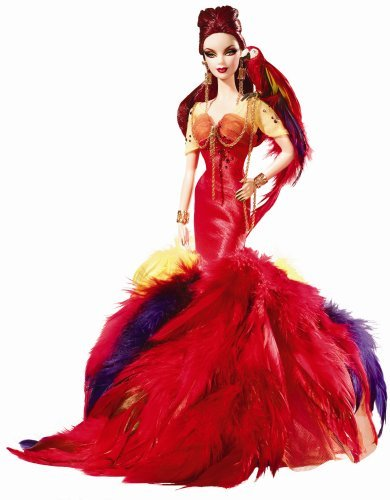 Barbie Collector # L9659 Scarlet Macaw by (Barbie Scarlet Macaw)